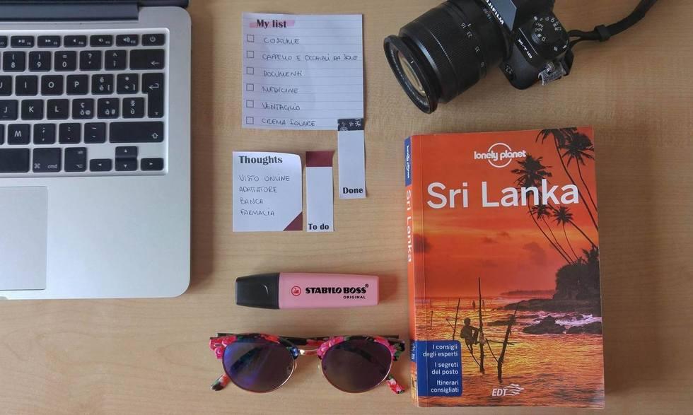 Prima di partire per lo Sri Lanka